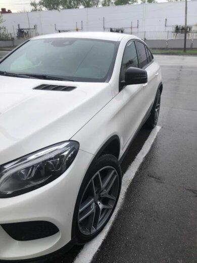 Mercedes GLE полировка