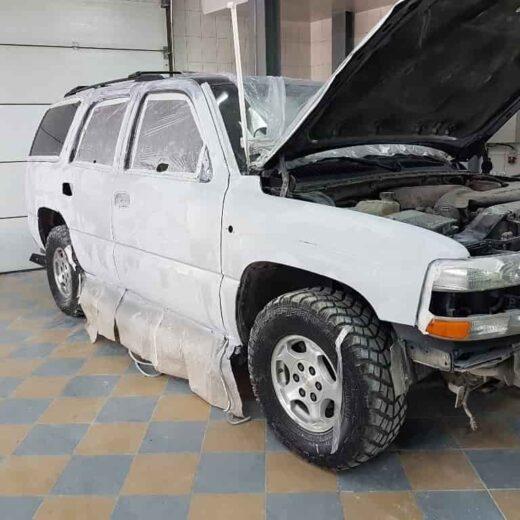 Chevrolet полная покраска кузова