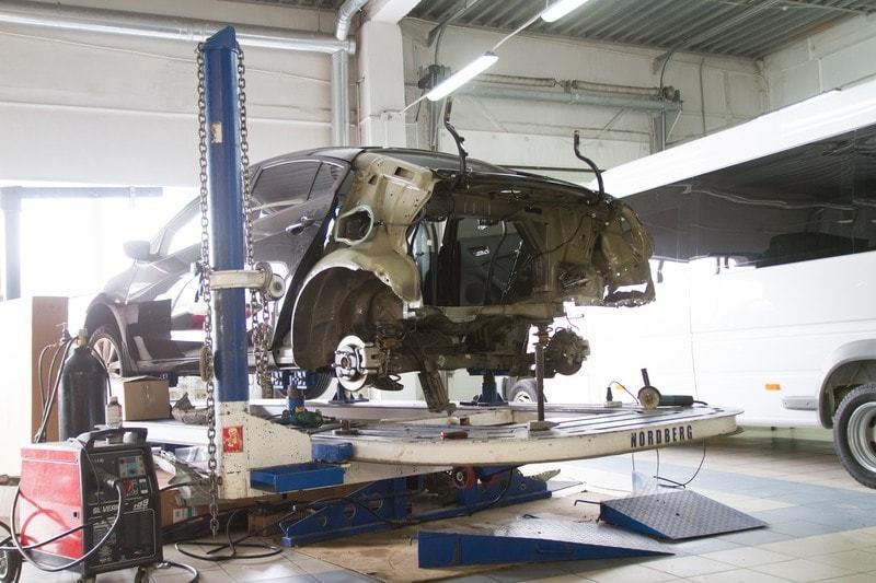 фото ремонт кузова авто в рязани