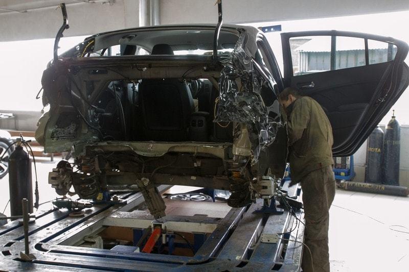 фото процесс кузовного ремонта автомобиля