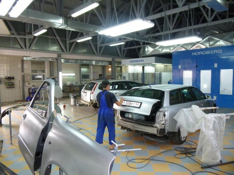 фото покраска автомобиля в рязани