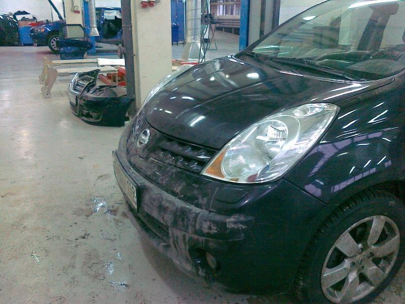 фото после ремонта бампера автомобиля