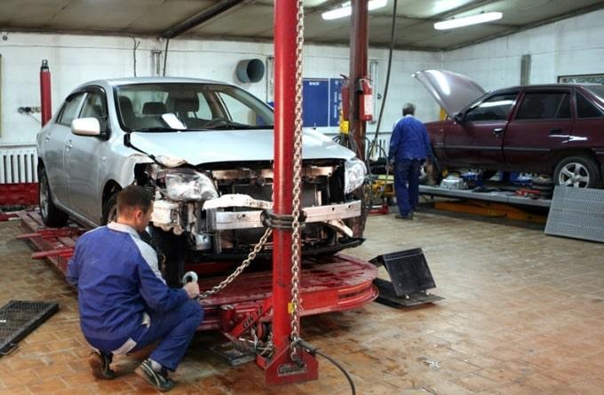 фото ремонт кузова после дтп