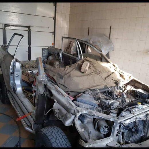 Toyota полный кузовной ремонт