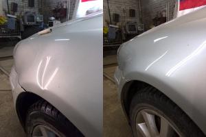 фото устранение вмятин на авто до и после
